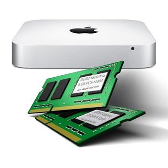 16GB Mac Mini RAM DDR3 1600MHz. 2x8GB (najaar 2012)