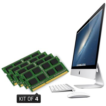 32GB kit DDR3 1600MHz. Apple iMac (2012 / 2013)