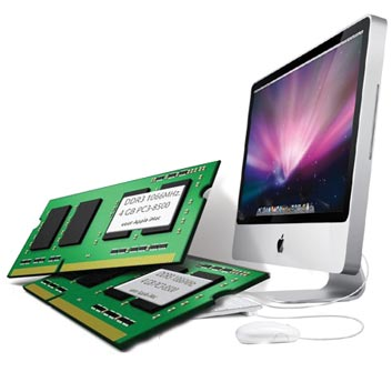 8GB kit DDR3 1066 MHz. Apple iMac (najaar 2009)