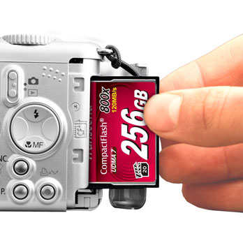 Transcend 32GB CompactFlash 800x 120MB/s