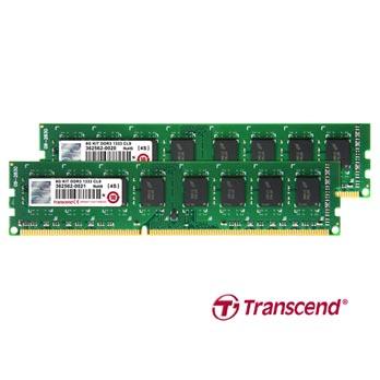 8GB DDR3 KIT PC3-10600 (1333MHz.) Transcend