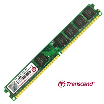 2GB DDR2 DIMM PC2-6400 (800MHz.) Transcend