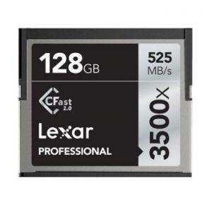 Lexar 128GB CFast 2.0 Professional 3500x 525MB/s