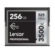 Lexar 256GB CFast 2.0 Professional 3500x 525MB/s