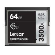 Lexar 64GB CFast 2.0 Professional 3500x 525MB/s