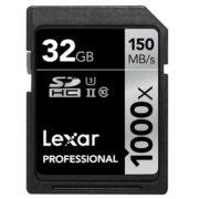Lexar 32GB SDHC 1000x Professional UHS-II 150MB/s