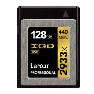Lexar 128GB XQD 2933x Professional Card 440MB/s
