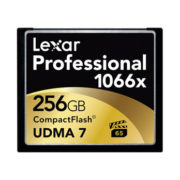 Lexar 256GB Professional 1066x Compact Flash VPG65 160MB/s