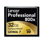 Lexar 32GB Compact Flash 800x Professional VPG20 120MB/s