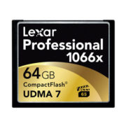 Lexar 64GB Professional 1066x Compact Flash VPG65 160MB/s