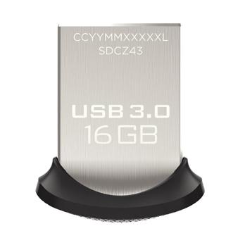 SanDisk Ultra Fit 16GB USB 3.0 Flash Drive