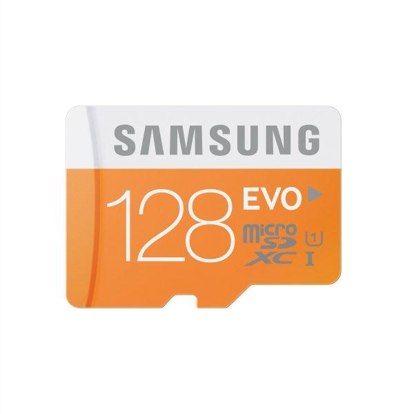 Samsung 128GB micro SD EVO met adapter UHS-I Class 10 48MB/s