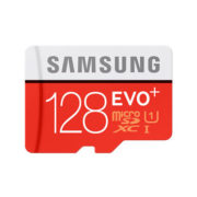 Samsung 128GB micro SD EVO Plus met adapter UHS-I 80MB/s