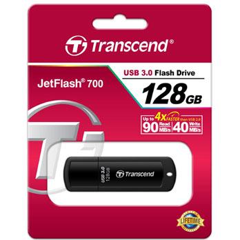 Transcend JetFlash 700 128GB USB 3.0 Flash drive