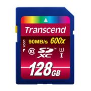 Transcend 128GB SDXC Ultimate 600x Class 10 UHS-I