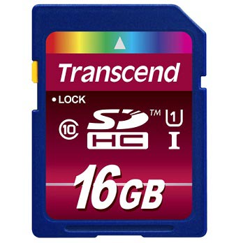 Transcend 16GB SDHC Ultimate 600x Class 10 UHS-I