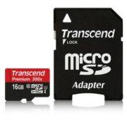 Transcend 16GB microSDHC UHS-I 300x Premium Class 10