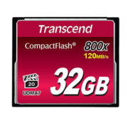 Transcend 32GB CompactFlash 800x 120MB/s