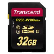 Transcend 32GB SDHC UHS-II U3 1900x