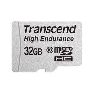 Transcend 32GB microSD Class 10 voor dashcam en IP Cam