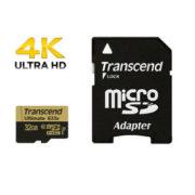 Transcend Ultimate 32GB micro SD 633x UHS-I U3