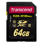 Transcend 64GB SDXC UHS-II U3 1900x