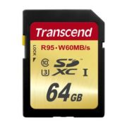 Transcend 64GB SDXC Ultimate 633x UHS-I U3