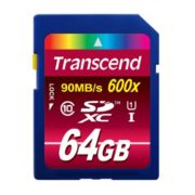 Transcend 64GB SDXC Ultimate 600x Class 10 UHS-I