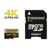 Transcend Ultimate 64GB micro SD 633x UHS-I U3