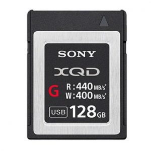 SONY 128 GB XQD G-series geheugenkaart 440MB/s