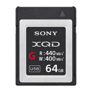 SONY 64 GB XQD G-series geheugenkaart 440MB/s