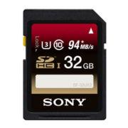 SONY 32 GB SDHC kaart SFUX2 U3 R94 / W70