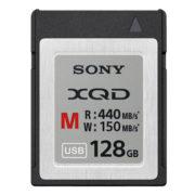 Sony XQD 128 GB Geheugenkaart 440 MB/s M serie