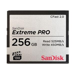 Sandisk CFast 2.0 Extreme 256 GB 525 MB/s