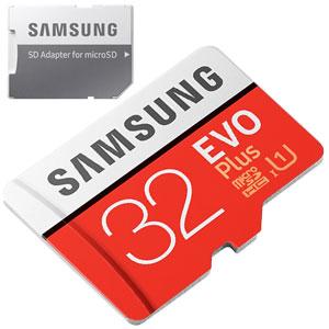 Samsung EVO Plus 32GB micro SD geheugenkaart 95MB/s