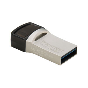 Transcend JetFlash 890 64GB USB 3.1 Type-C Flash drive
