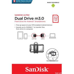 SanDisk Ultra Dual M3.0 32GB USB Flash Drive
