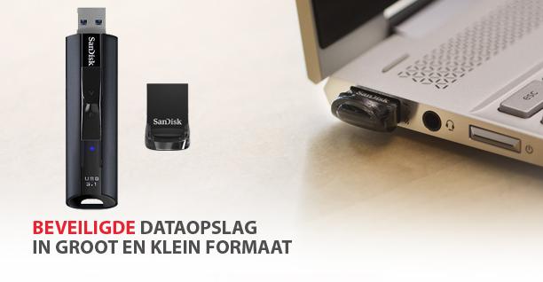 SanDisk USB beveiligde data opslag