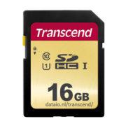 Transcend 500S 16GB SDHC U1 MLC 95MB/s SD Kaart