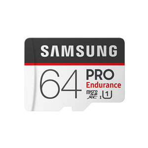 Samsung Pro Endurance 64 GB micro SD geheugenkaart 100MB/s