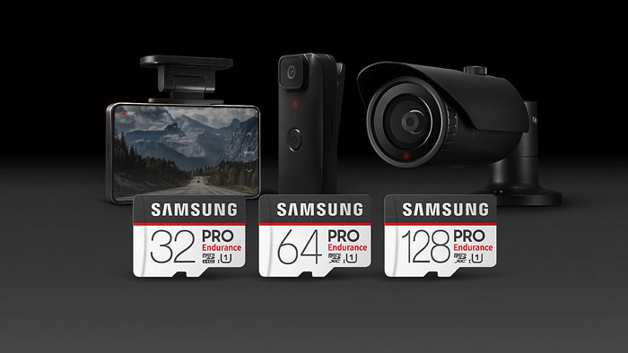 Samsung Pro Endurance micro SD geheugenkaarten 100MB/s