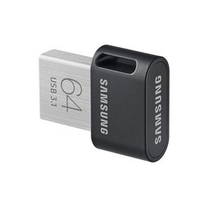 Samsung 64 GB Fit Plus mini USB Drive.