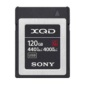 Sony XQD 120 GB Geheugenkaart 440 MB/s G Serie