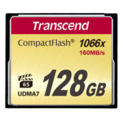 Transcend 128 GB Compact Flash 160 MB/s 1066x