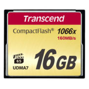 Transcend 16GB CompactFlash 1000x 160MB/s