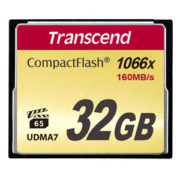 Transcend 32GB CompactFlash 1000x 160MB/s
