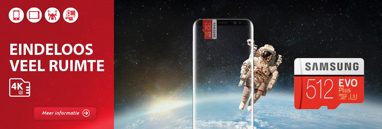 Samsung Micro SD 512 GB veel ruimte voor Android telefoon