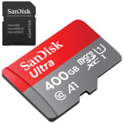 SanDisk 400GB micro SD ULTRA geheugenkaart UHS-I A1 met adapter