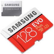 Samsung EVO Plus 128GB micro SD geheugenkaart 100MB/s