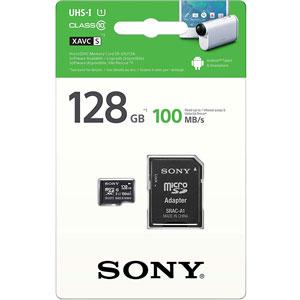 SONY 128GB micro SD kaart UHS-I 100MB/s